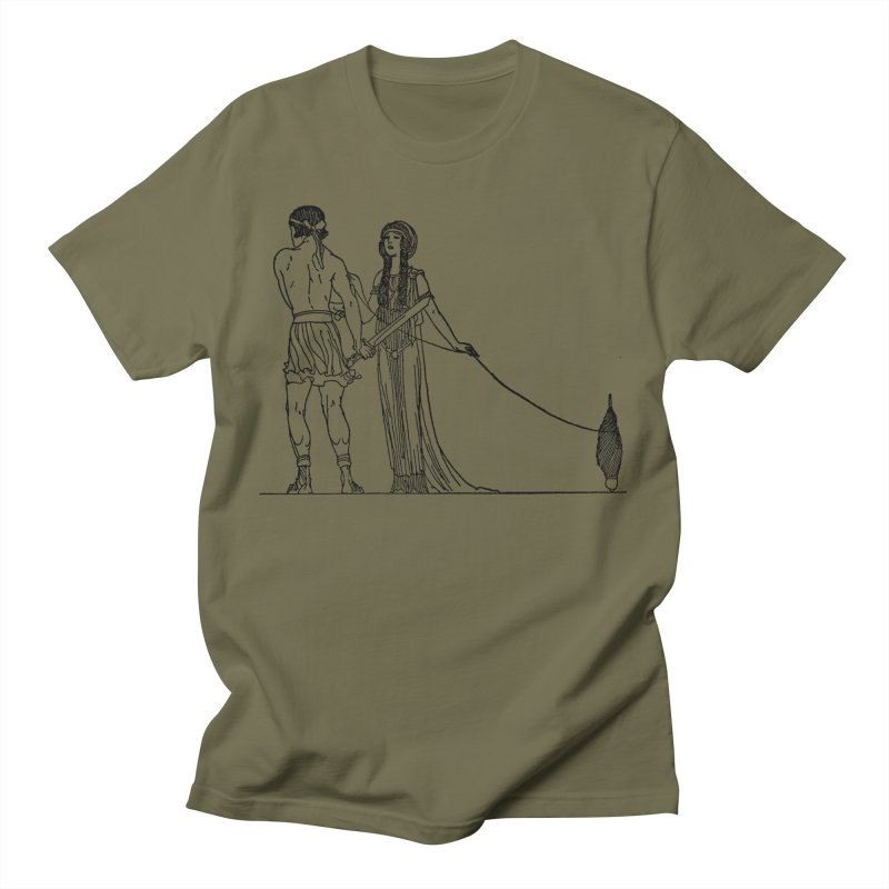 Theseus and Ariadne Men's T-Shirt by Green Grackle Studio