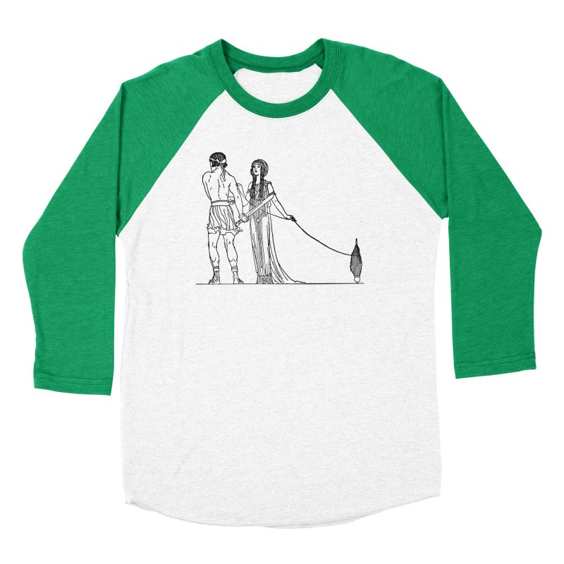 Theseus and Ariadne Women's Longsleeve T-Shirt by Green Grackle Studio