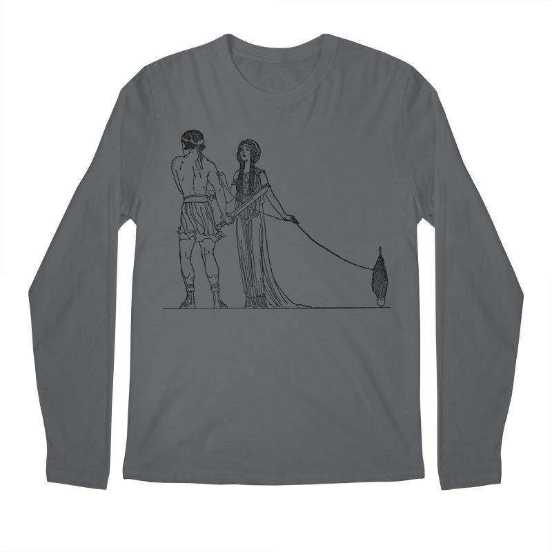 Theseus and Ariadne Men's Regular Longsleeve T-Shirt by Green Grackle Studio