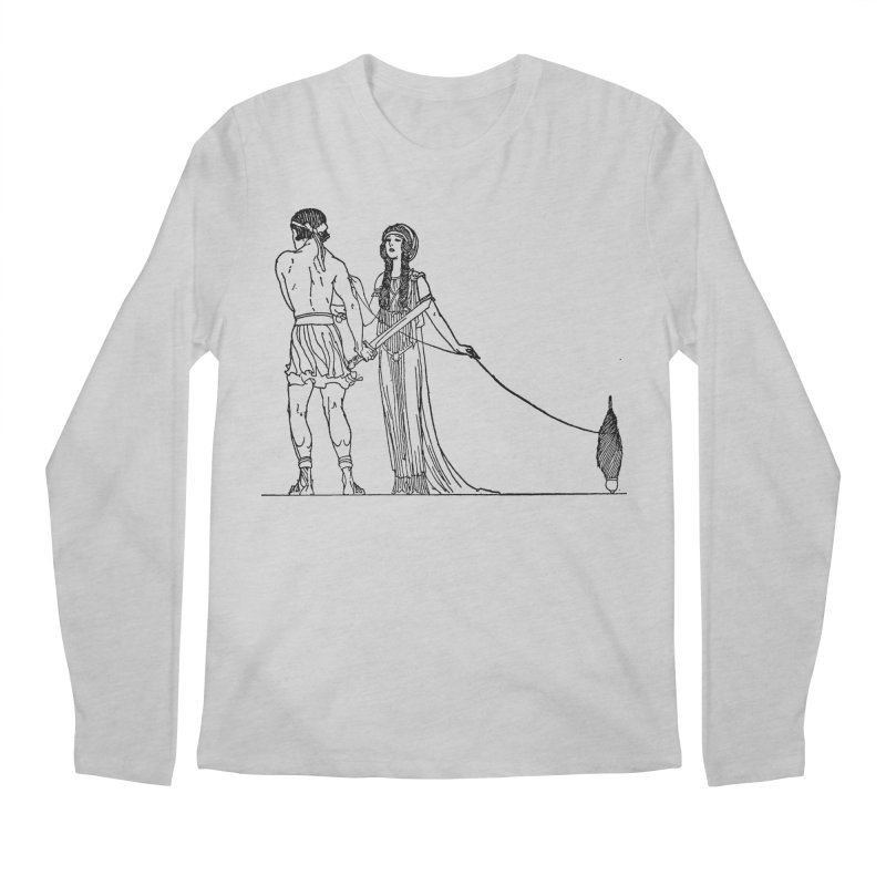 Theseus and Ariadne Men's Longsleeve T-Shirt by Green Grackle Studio