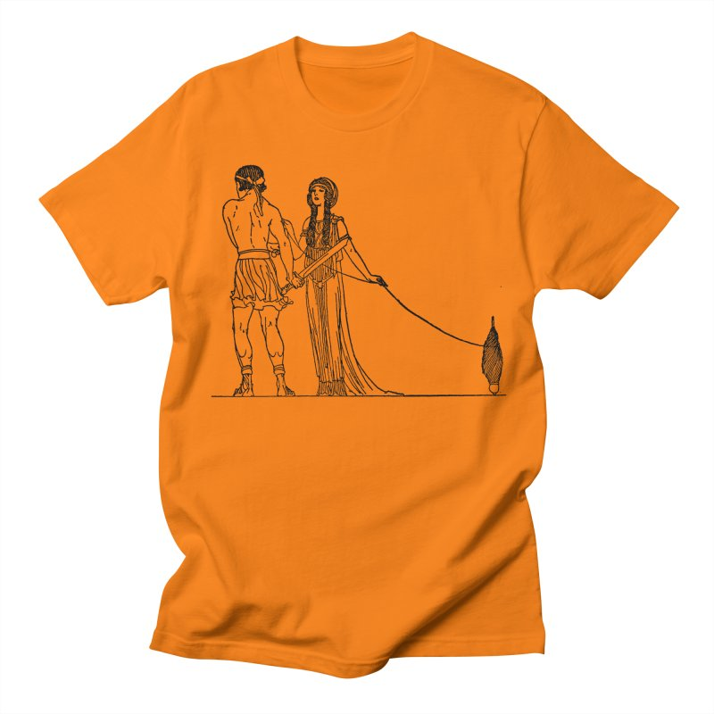 Theseus and Ariadne Men's Regular T-Shirt by Green Grackle Studio