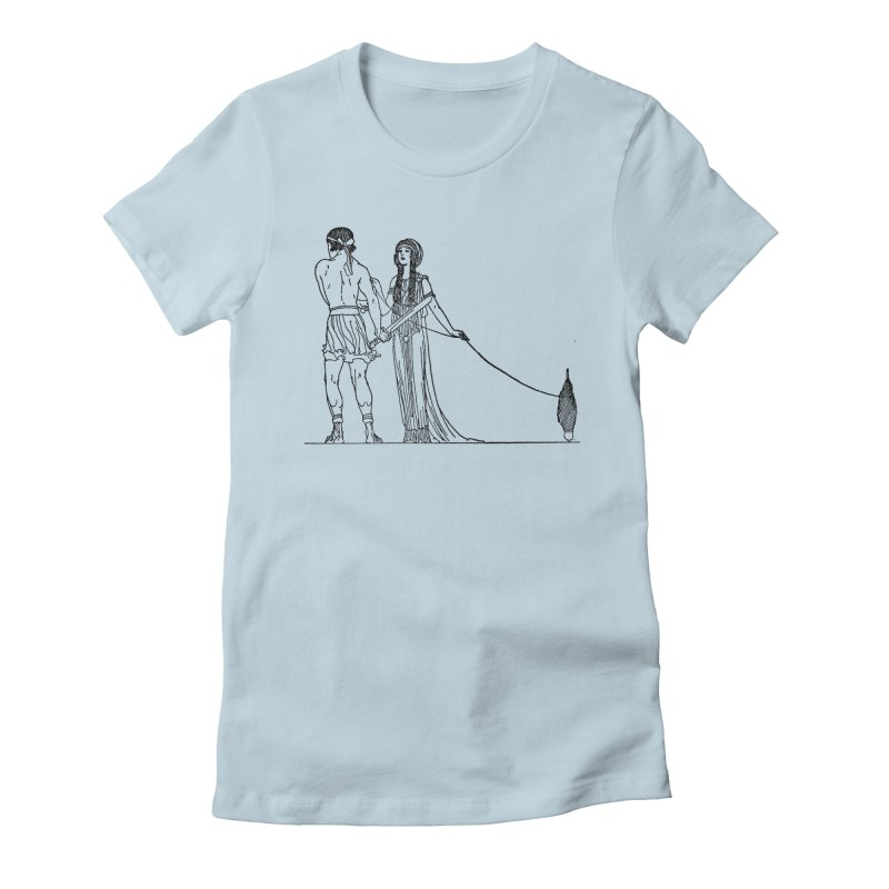 Theseus and Ariadne Women's T-Shirt by Green Grackle Studio