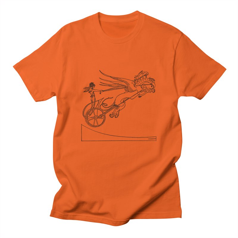 Medea and her Dragon Chariot Men's T-Shirt by Green Grackle Studio