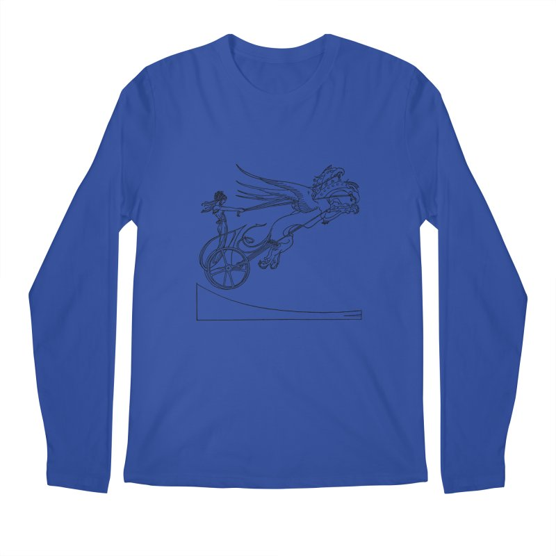 Medea and her Dragon Chariot Men's Longsleeve T-Shirt by Green Grackle Studio