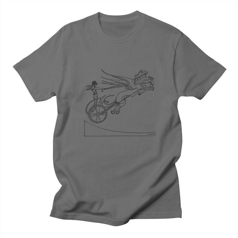 Medea and her Dragon Chariot Men's Regular T-Shirt by Green Grackle Studio