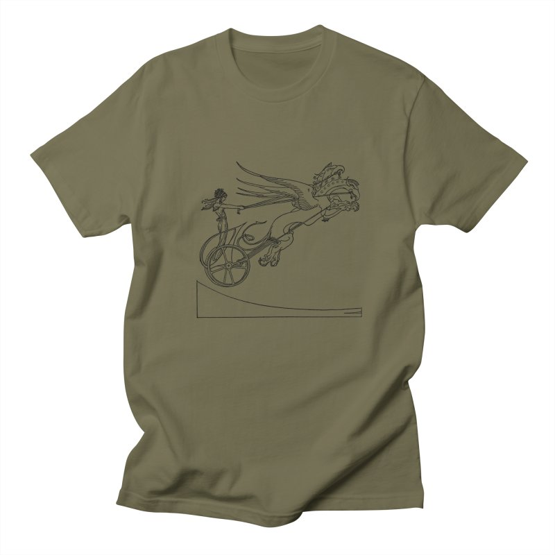 Medea and her Dragon Chariot Women's Regular Unisex T-Shirt by Green Grackle Studio