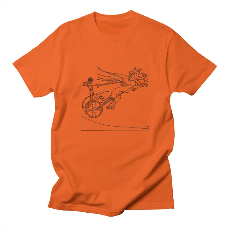 Medea and her Dragon Chariot Men's Regular T-Shirt by Green Grackle Studio
