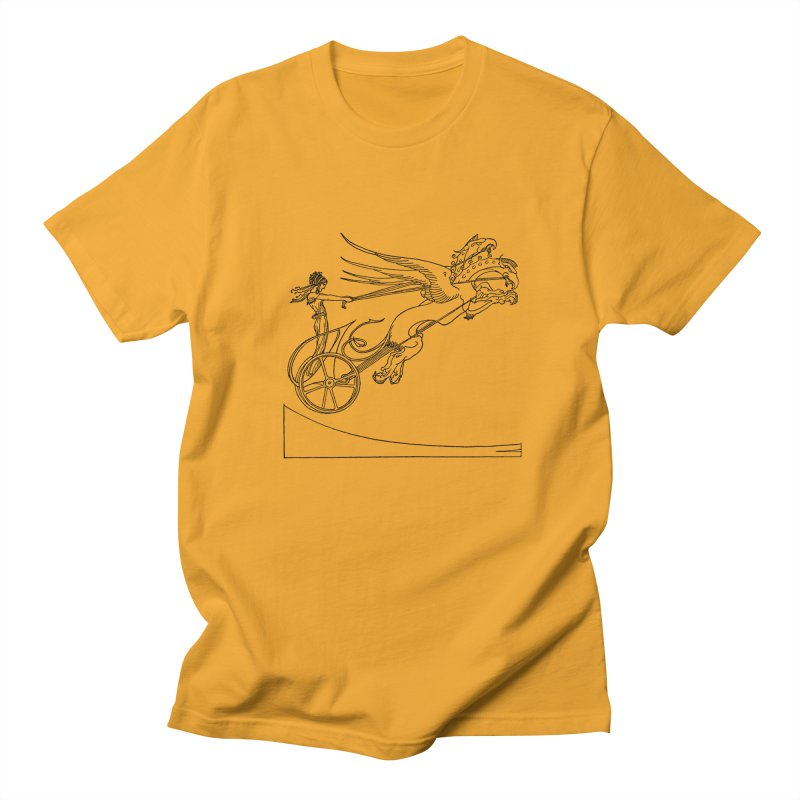 Medea and her Dragon Chariot Women's Regular Unisex T-Shirt by Green Grackle Studio