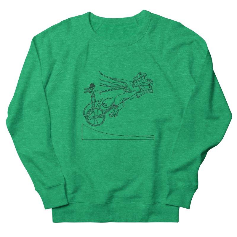 Medea and her Dragon Chariot Women's Sweatshirt by Green Grackle Studio