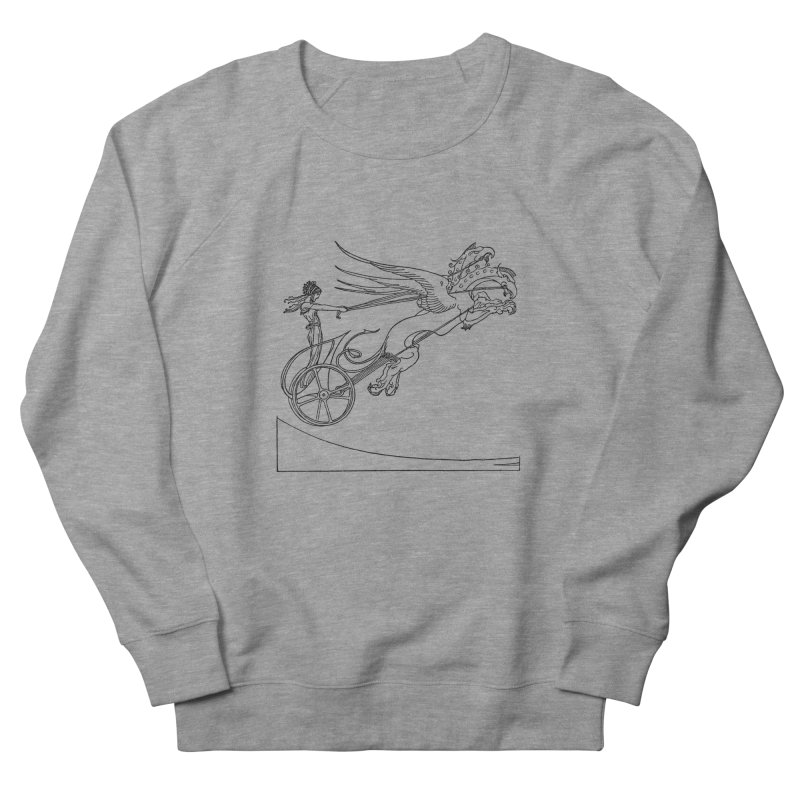 Medea and her Dragon Chariot Women's French Terry Sweatshirt by Green Grackle Studio