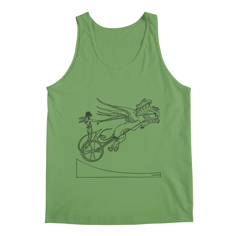 Medea and her Dragon Chariot Men's Tank by Green Grackle Studio