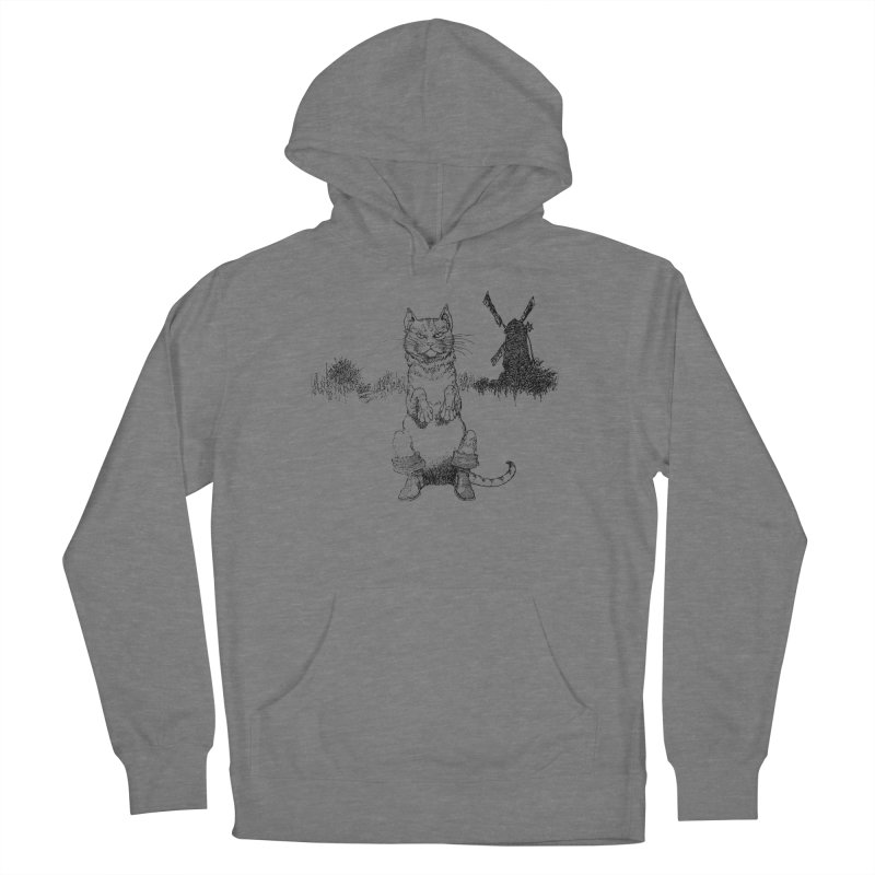 Puss in Boots Women's Pullover Hoody by Green Grackle Studio