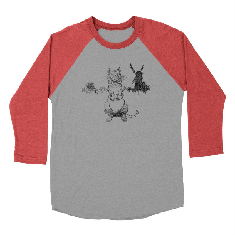 Puss in Boots Men's Longsleeve T-Shirt by Green Grackle Studio