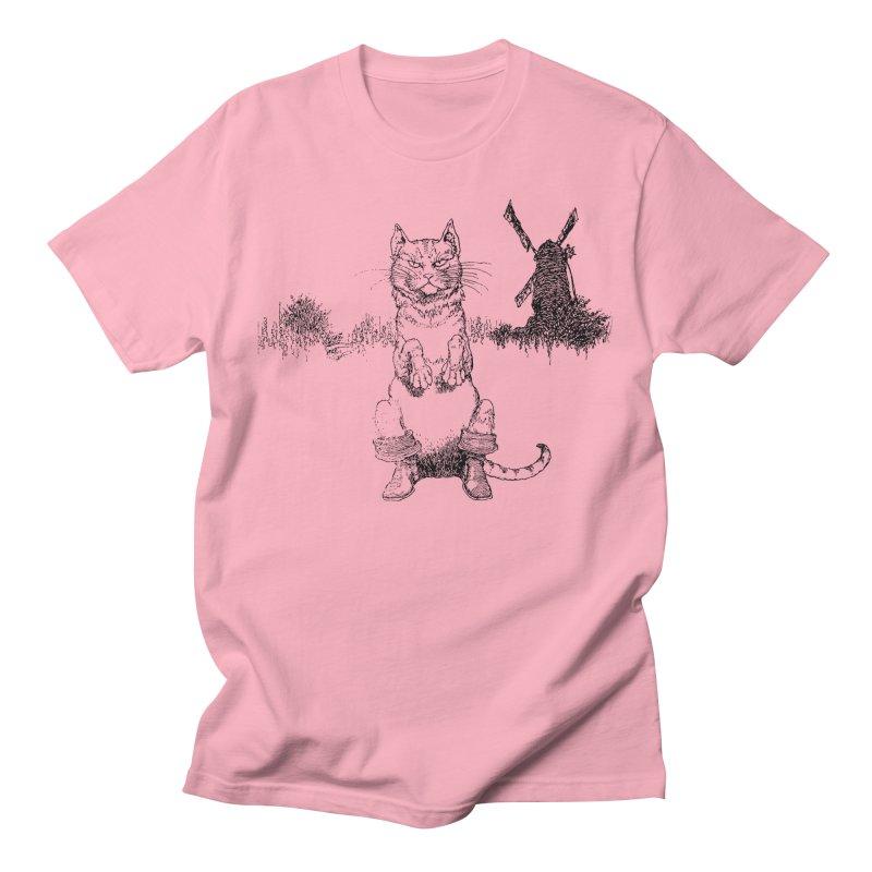 Puss in Boots Women's Regular Unisex T-Shirt by Green Grackle Studio
