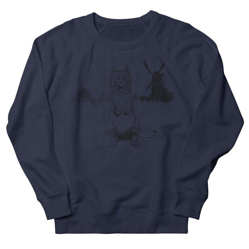 Puss in Boots Women's Sweatshirt by Green Grackle Studio