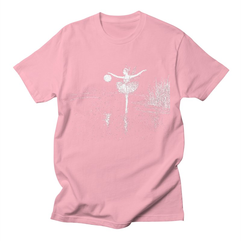 Anne Crosses the Dark Pool Men's T-Shirt by Green Grackle Studio