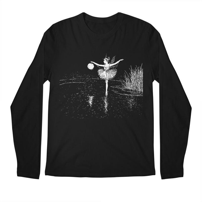 Anne Crosses the Dark Pool Men's Regular Longsleeve T-Shirt by Green Grackle Studio