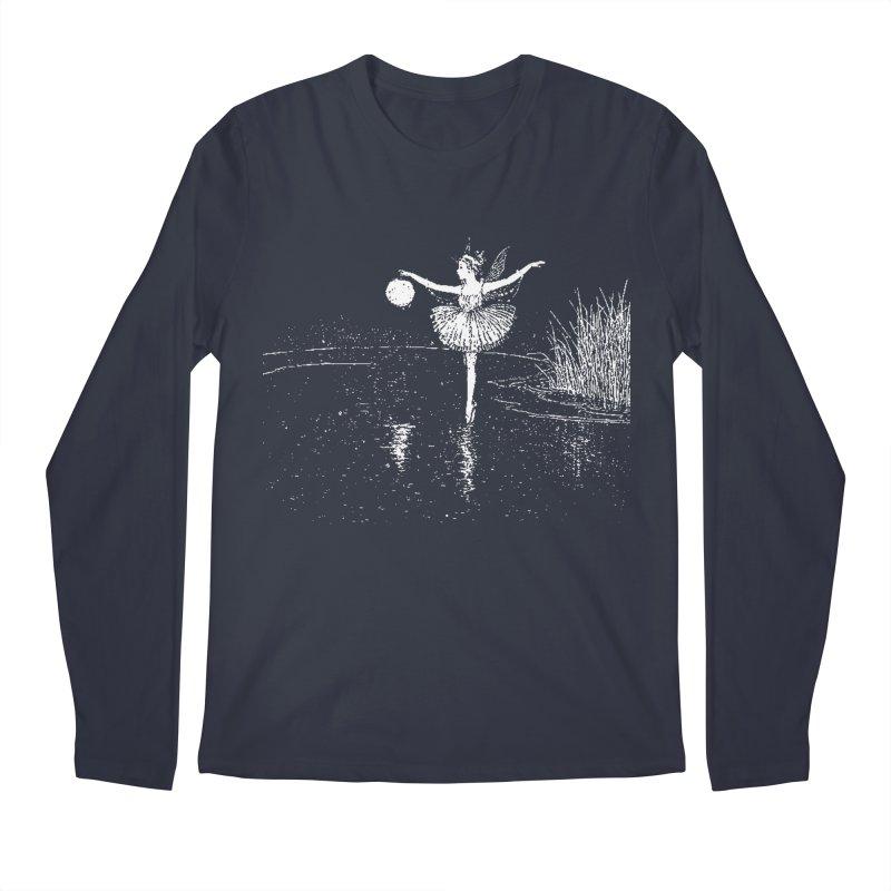 Anne Crosses the Dark Pool Men's Longsleeve T-Shirt by Green Grackle Studio