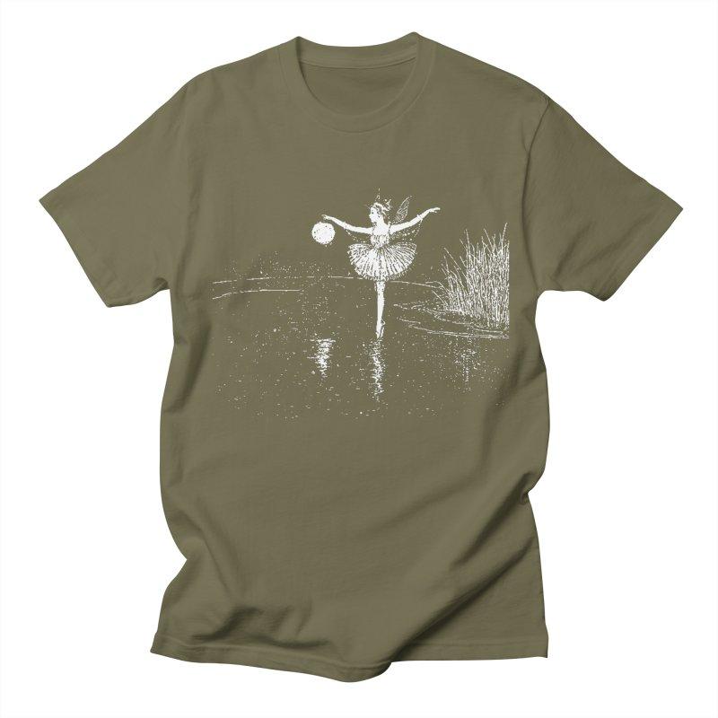Anne Crosses the Dark Pool Women's Regular Unisex T-Shirt by Green Grackle Studio