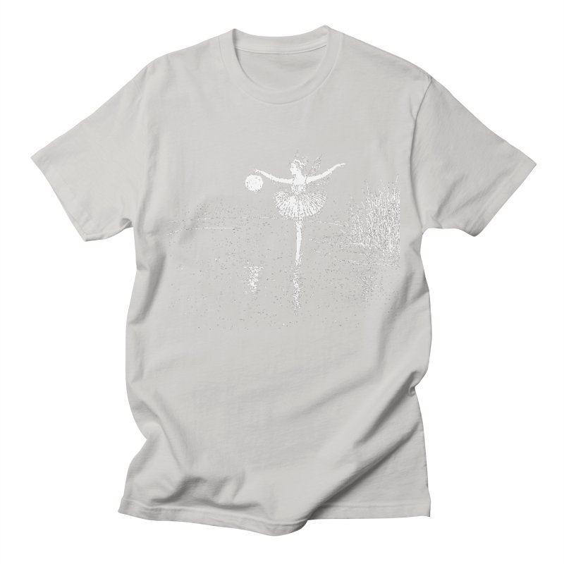 Anne Crosses the Dark Pool Men's Regular T-Shirt by Green Grackle Studio
