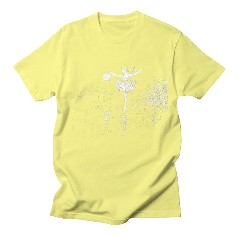 Anne Crosses the Dark Pool Women's Regular Unisex T-Shirt by Green Grackle Studio