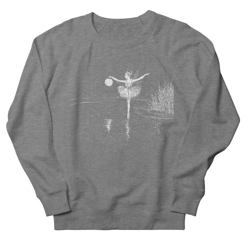 Anne Crosses the Dark Pool Women's French Terry Sweatshirt by Green Grackle Studio