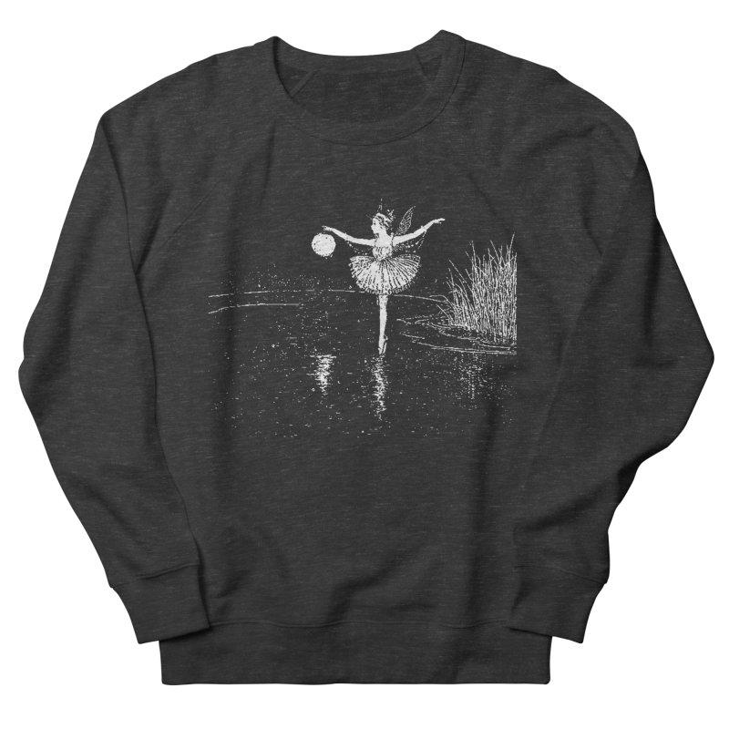 Anne Crosses the Dark Pool Men's Sweatshirt by Green Grackle Studio