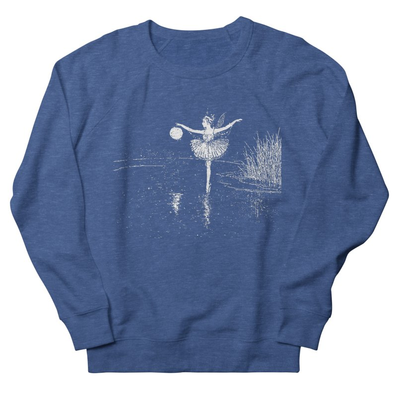 Anne Crosses the Dark Pool Men's Sweatshirt by Green Grackle Studio