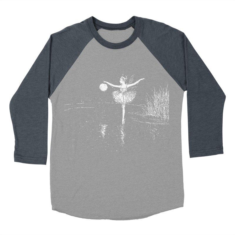 Anne Crosses the Dark Pool Women's Baseball Triblend Longsleeve T-Shirt by Green Grackle Studio