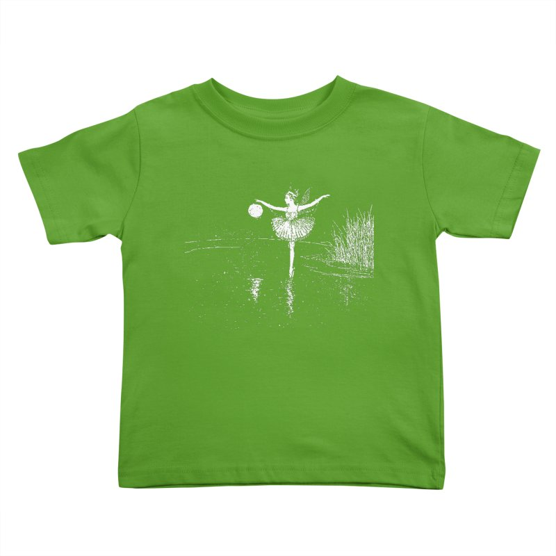 Anne Crosses the Dark Pool Kids Toddler T-Shirt by Green Grackle Studio