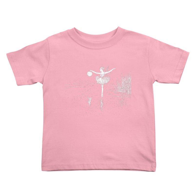 Anne Crosses the Dark Pool Kids Toddler T-Shirt by Green Grackle Studio
