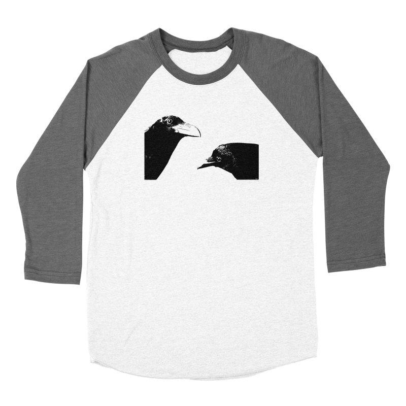 A Crow Conversation Women's Longsleeve T-Shirt by Green Grackle Studio