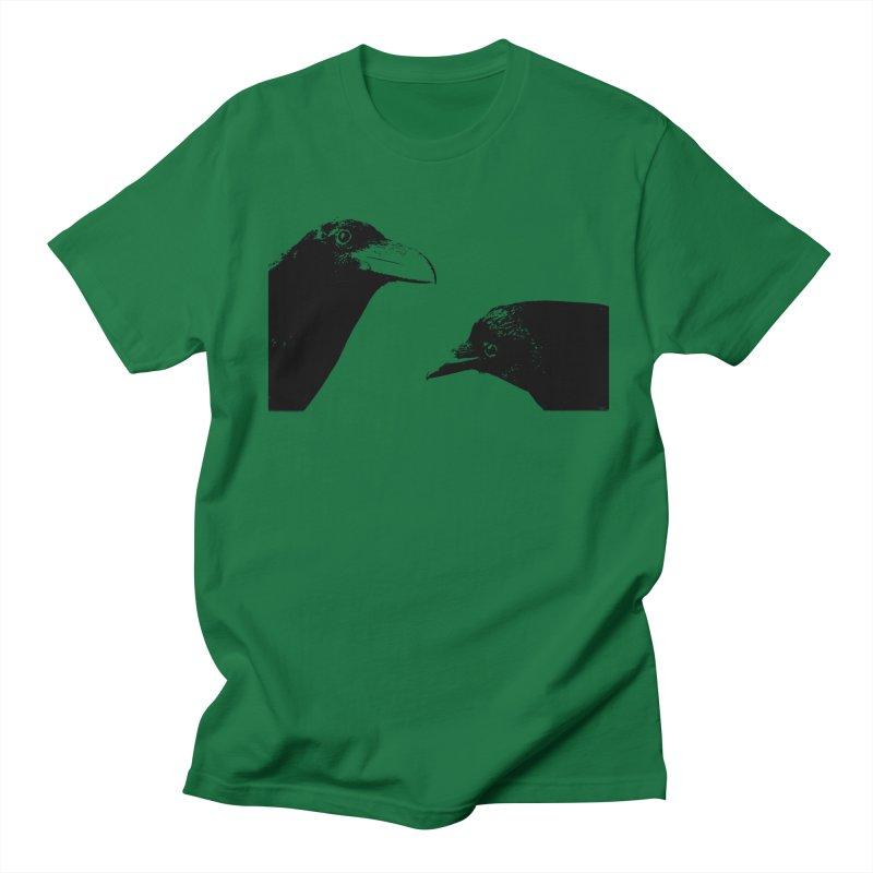 A Crow Conversation Women's Regular Unisex T-Shirt by Green Grackle Studio