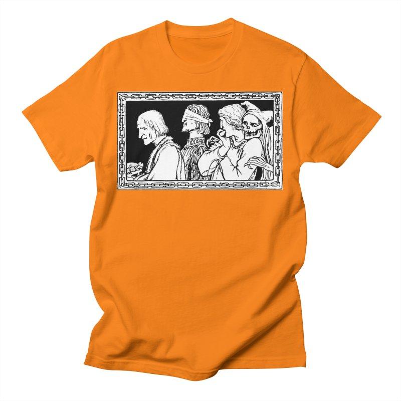 A Masque of Dead Florentine Men's T-Shirt by Green Grackle Studio