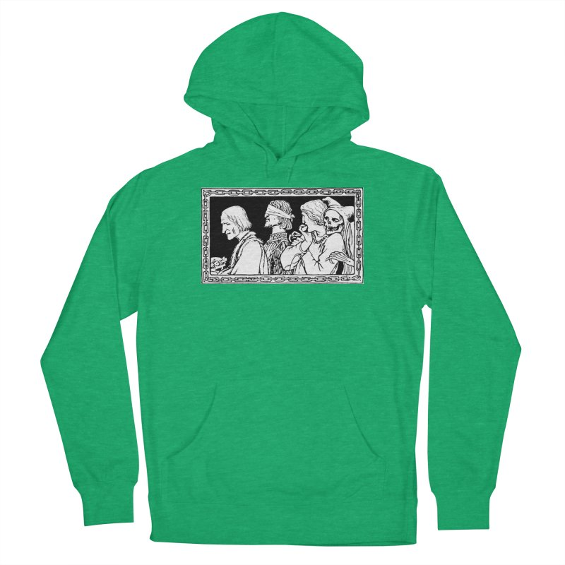 A Masque of Dead Florentine Men's Pullover Hoody by Green Grackle Studio