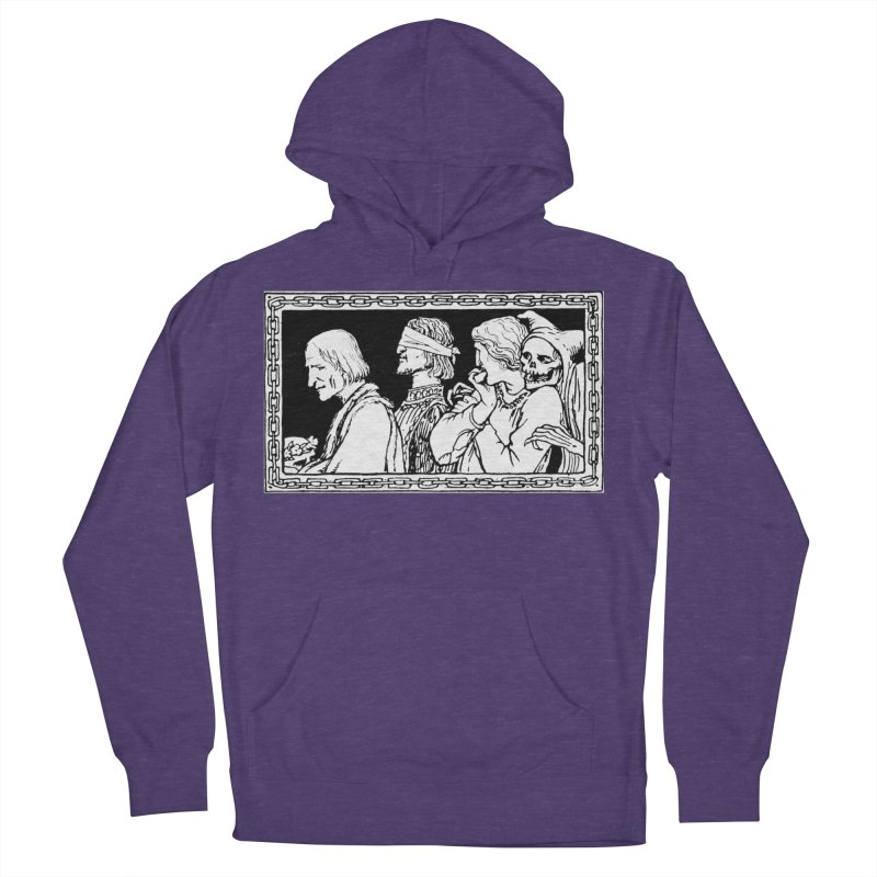 A Masque of Dead Florentine Women's French Terry Pullover Hoody by Green Grackle Studio