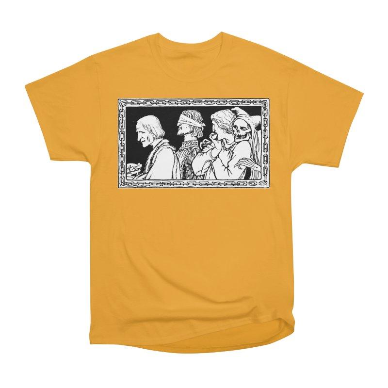 A Masque of Dead Florentine Women's Heavyweight Unisex T-Shirt by Green Grackle Studio