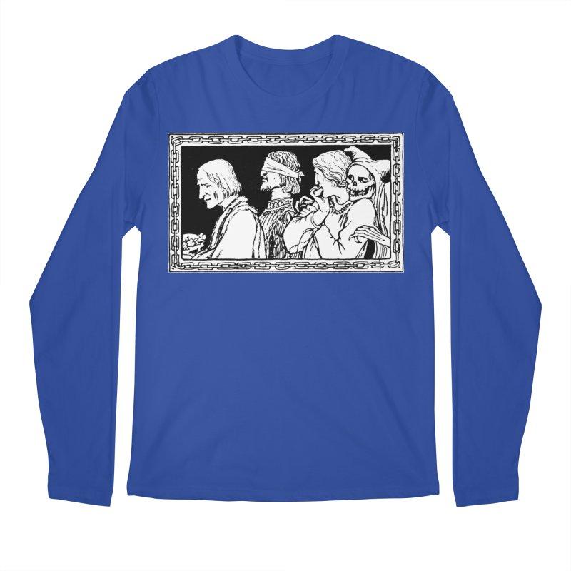 A Masque of Dead Florentine Men's Regular Longsleeve T-Shirt by Green Grackle Studio