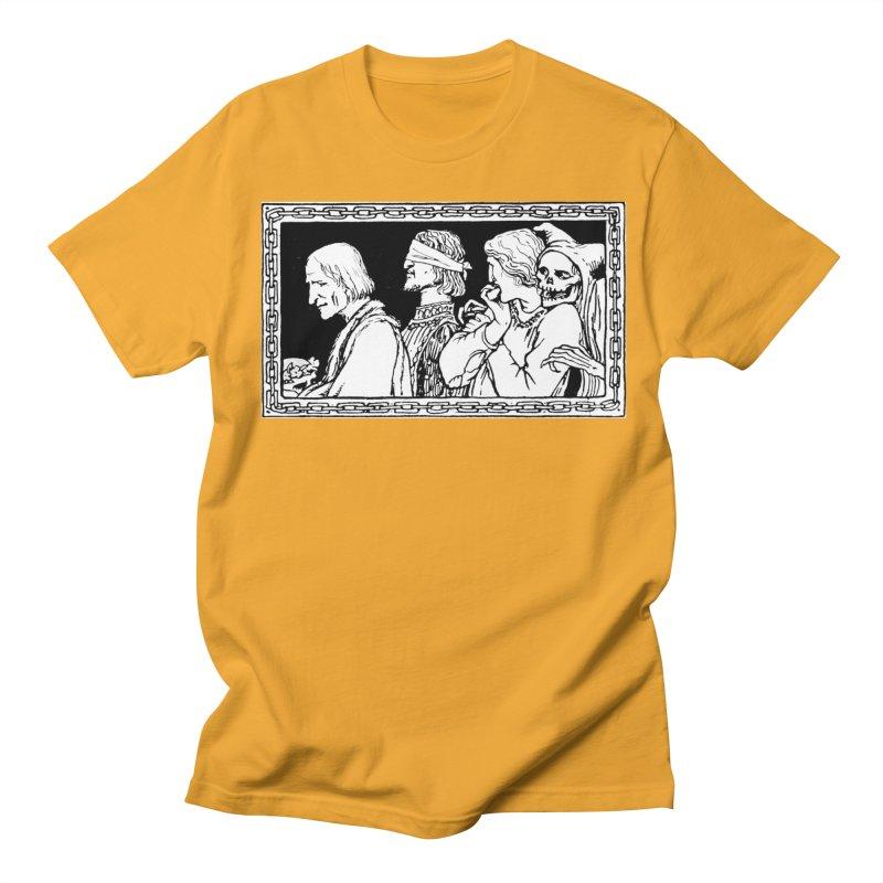 A Masque of Dead Florentine Women's Regular Unisex T-Shirt by Green Grackle Studio