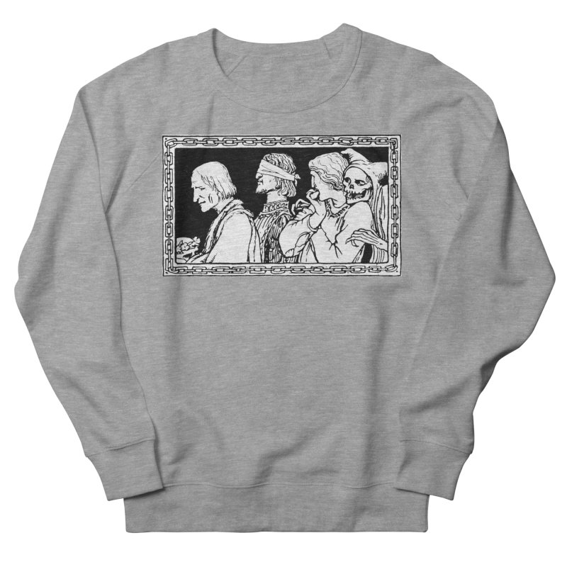 A Masque of Dead Florentine Men's French Terry Sweatshirt by Green Grackle Studio