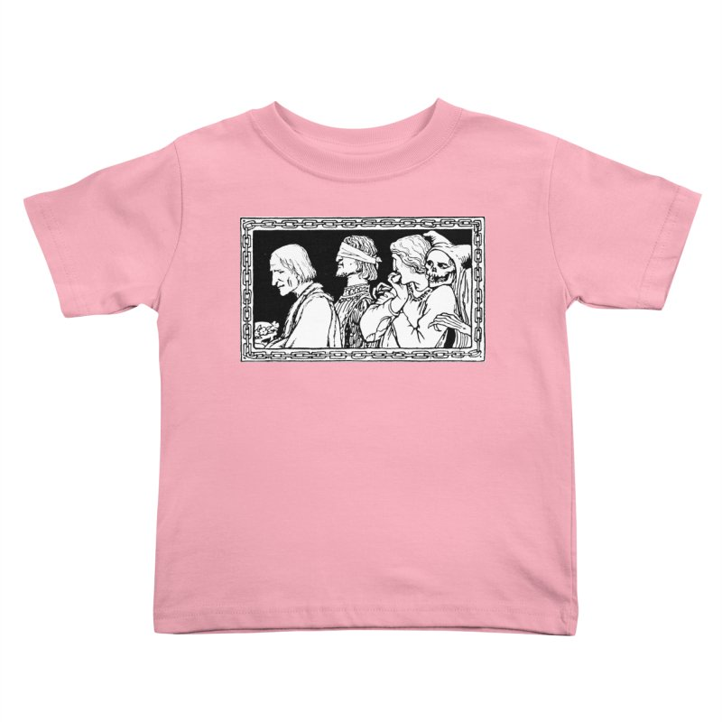 A Masque of Dead Florentine Kids Toddler T-Shirt by Green Grackle Studio