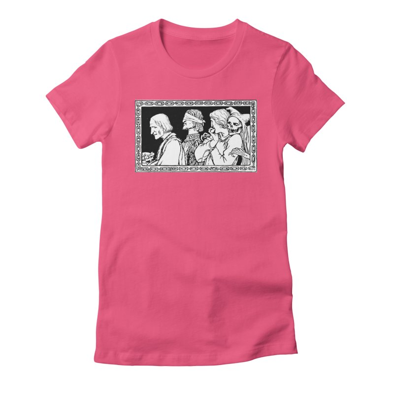 A Masque of Dead Florentine Women's T-Shirt by Green Grackle Studio