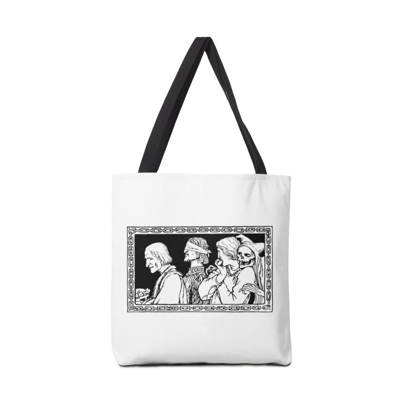 A Masque of Dead Florentine Accessories Tote Bag Bag by Green Grackle Studio