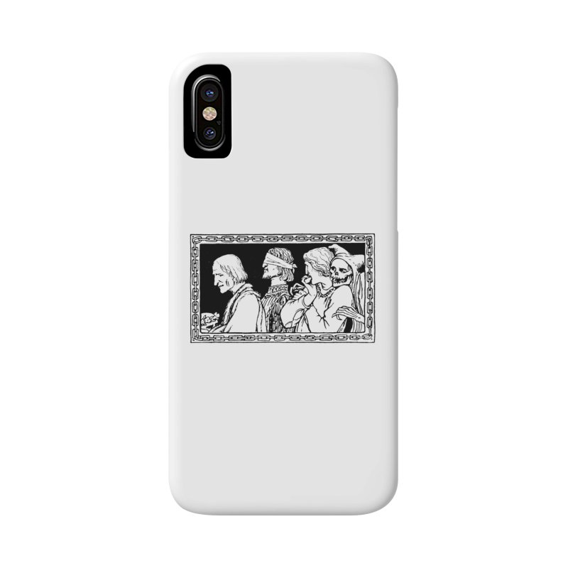 A Masque of Dead Florentine Accessories Phone Case by Green Grackle Studio