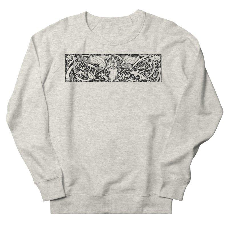 Angel Women's Sweatshirt by Green Grackle Studio