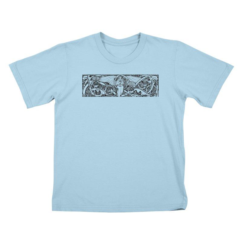 Angel Kids T-Shirt by Green Grackle Studio