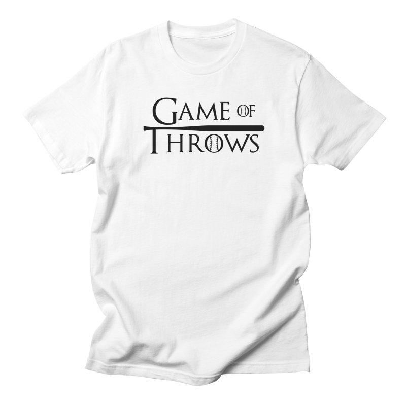 Game of Throws - Humorous Shirt Men's Regular T-Shirt by