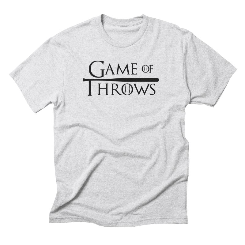 Game of Throws - Humorous Shirt Men's Triblend T-Shirt by