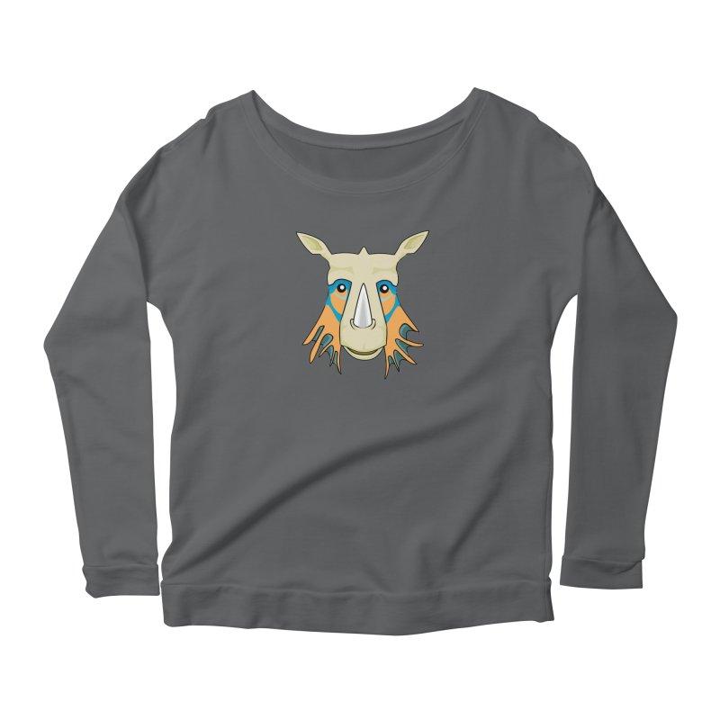 Rhinolicious Women's Scoop Neck Longsleeve T-Shirt by