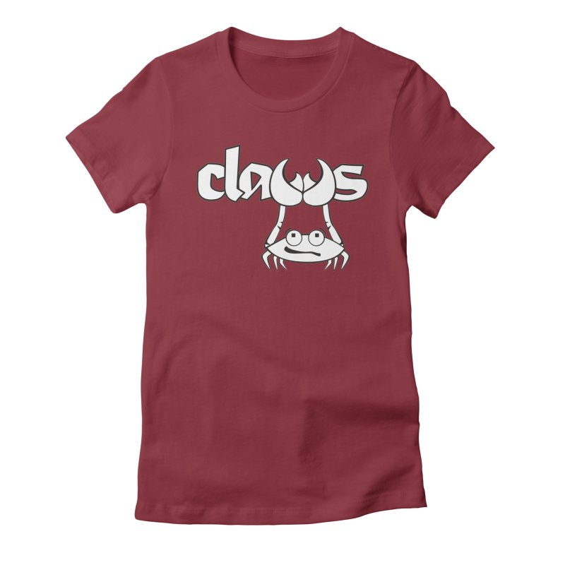ClaWs Women's Fitted T-Shirt by